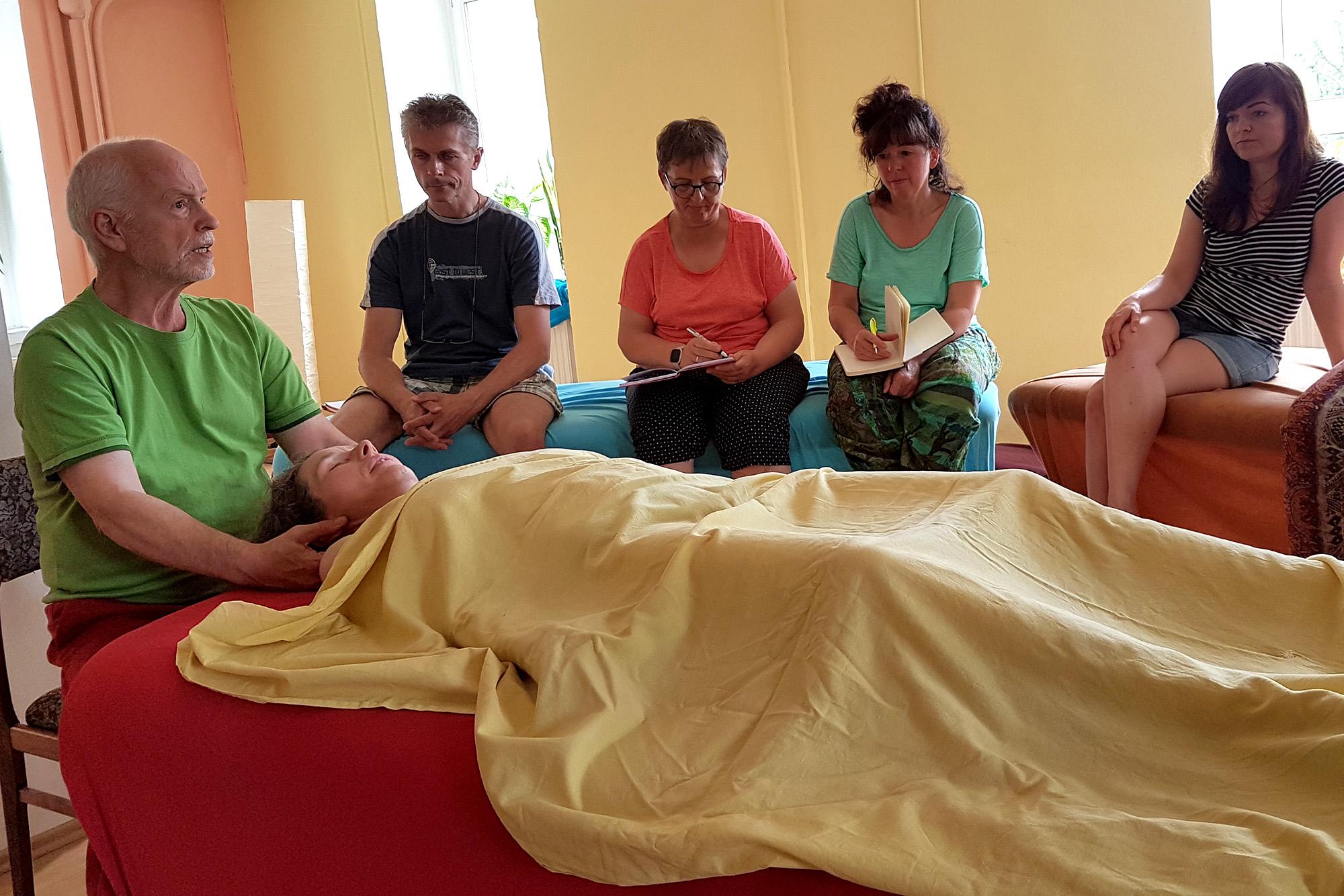 Anleitung Massage